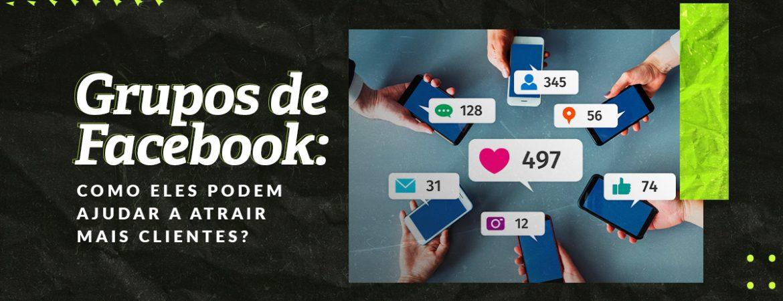 Celulares mostrando as diferentes reações que podem ser utilizadas nas postagens dos grupos de Facebook